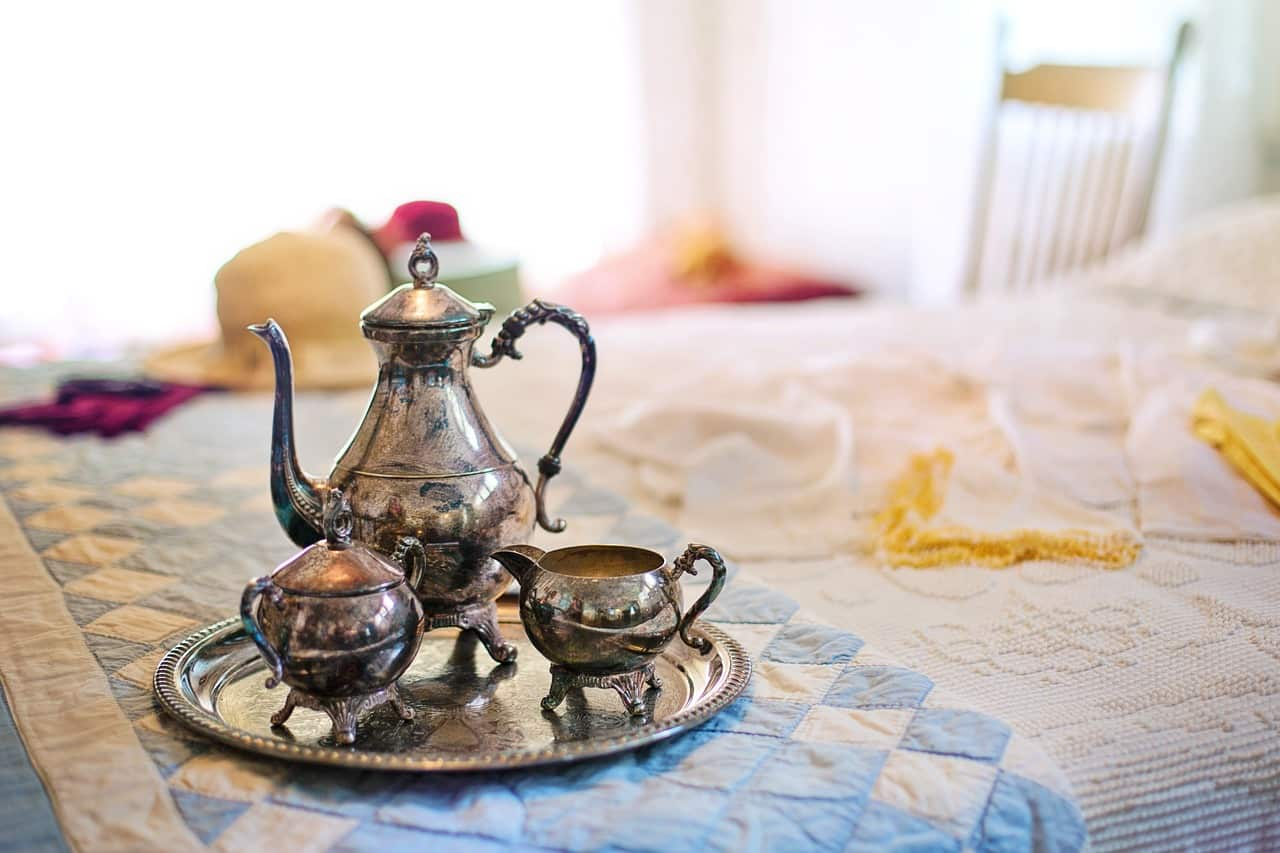 silver tea set Bed and Breakfast for sale in Italy