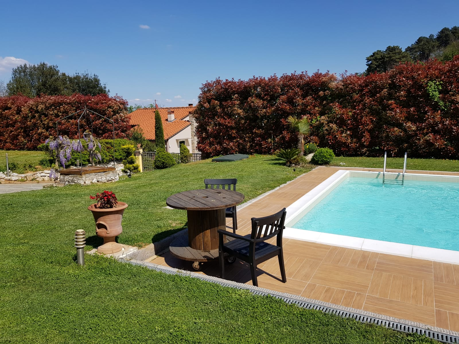 Villa With Swimming Pool In Lucca Countryside