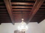 soffitto a cassettoni zona giorno